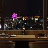 【ベイビューカウンター】絶景を目の前に楽しむカウンター席(3名様×3卓)