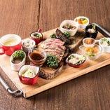 肉盛り & タパスセット (フル)