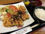 鶏二郎定食