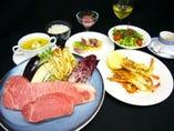 神戸牛、厳選牛ステーキと シーフードの創作鉄板焼特別ディナー