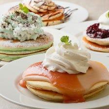 横浜で話題のパンケーキ店で女子会!