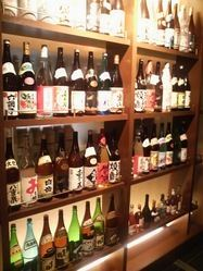 地酒・全国の銘柄焼酎・ワイン・カクテルなど豊富に揃えてます