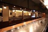 自慢の全長9mの鉄板