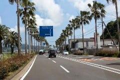 そのまま直進。案内標識は宮崎バイパス方面へ直進