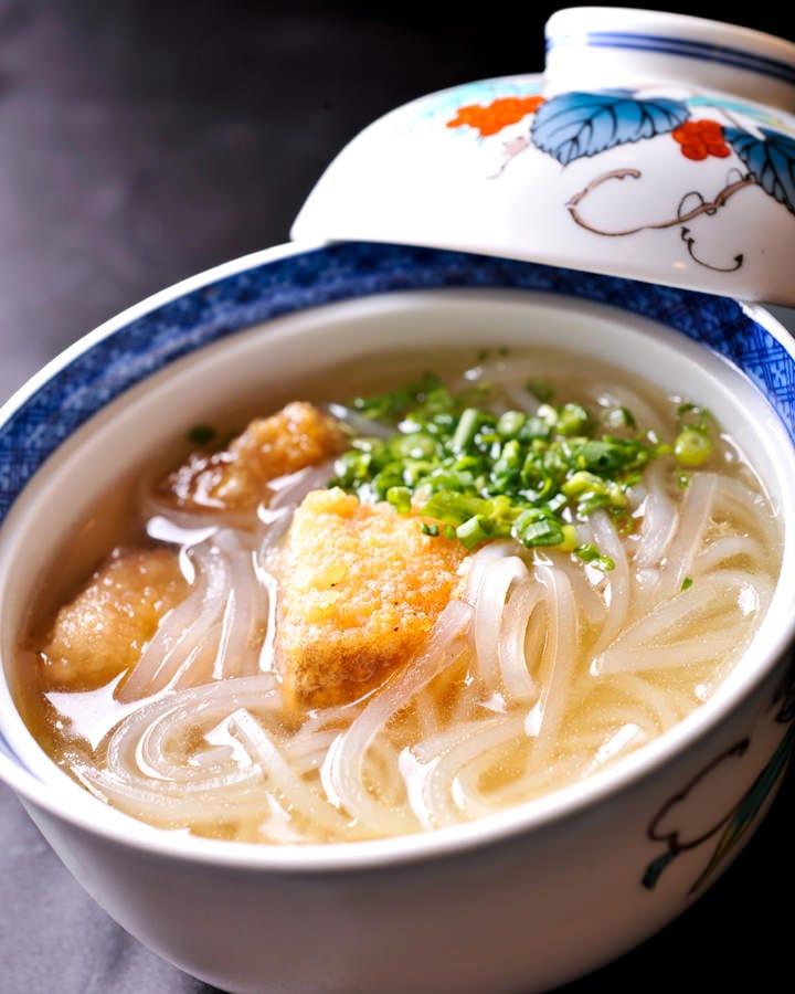 豚の角煮春雨スープ仕立て