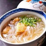 名物豚の角煮春雨スープ仕立て