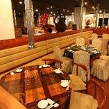 円卓・テーブル席(4名様~10名様)
