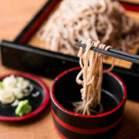 【〆は生蕎麦】 香り高くツルッとした喉越しの信州生蕎麦