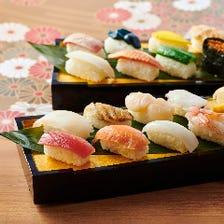 握りたてのお寿司も食べ放題♪