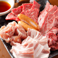 極上お肉を『盛合せセット』でご堪能