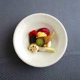 バルバラ風野菜のピクルス