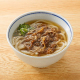 甘辛く煮た牛肉がうどんスープと融合し食欲をそそる商品です