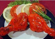 タンドリーチキン(2個)  Tandoori Chicken