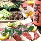 九州のご当地料理が楽しめる、うまかもんコース!