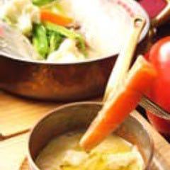 季節温野菜のバーニャカウダ