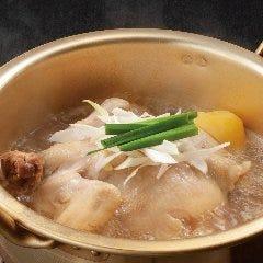 国産鶏のタッハンマリセット (〆のうどん付)