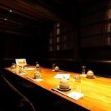 【テーブル完全個室】古民家をイメージ。