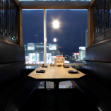 窓側の夜景テーブル個室