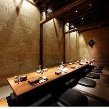 粋な風情漂う古民家風の完全個室