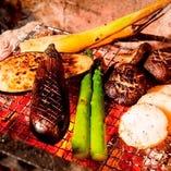 ■炉端焼き料理■ 焼き野菜盛合せ