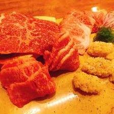 肉の寿司の宴会プラン