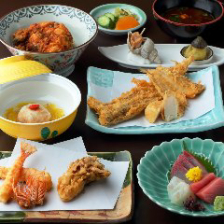 特別な日に相応しい天ぷらコース