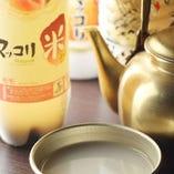 韓国酒といえばマッコリ!生マッコリは乳酸菌豊富で腸に健康に◎