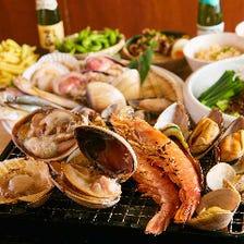 【食べ放題】全17種類以上の浜焼きが食べ放題♪驚きの期間限定で1980円!!