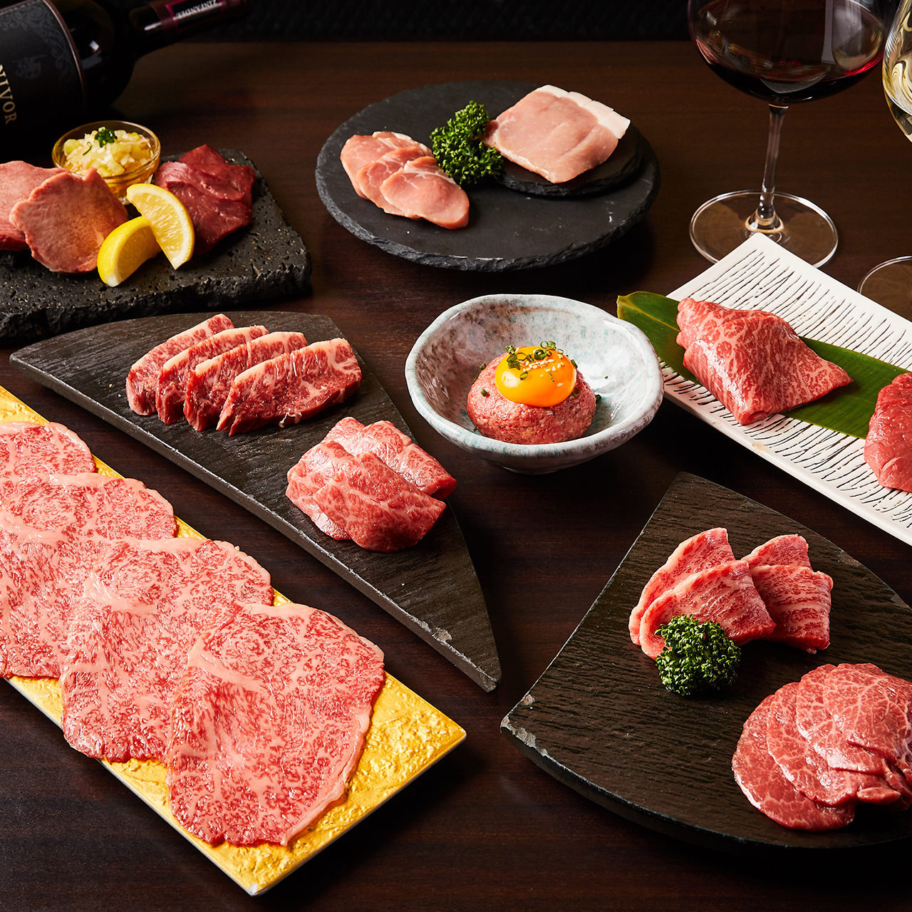 ガッツリお肉が楽しめる宴会コース