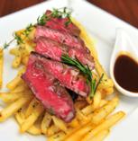 旨みの濃い赤身の肉!短角牛イチボ・ロースト