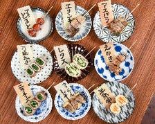 人気の◆鉄板焼や肉巻き野菜串◆