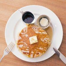 ◆バターミルクパンケーキでブランチ