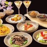 パーティや宴会に!各種コース料理を取り揃えております!