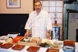 寿司を出張で すこし贅沢にパーティーや集まりに是非!