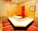寿司をご堪能!カウンター付の個室。6名様迄ご利用できます