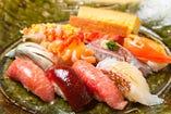 寿司の真髄を江戸前で 洗練された細かな仕事