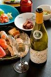ワインとお鮨のペアリングコース