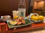 絶対的相性のレモンサワーと鶏の唐揚げ