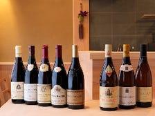 ワイン、日本酒も豊富に取り揃え♪