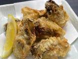 相性抜群!!アイラモルトで香り付けした広島県産牡蠣のフリット