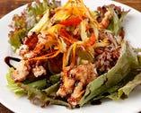 鶏の唐揚げ ~彩り野菜のエスカベッシュ風~