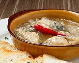 広島県産牡蠣のアヒージョ