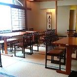 【足元が楽な…】畳テーブル椅子席和個室 最大20名様まで