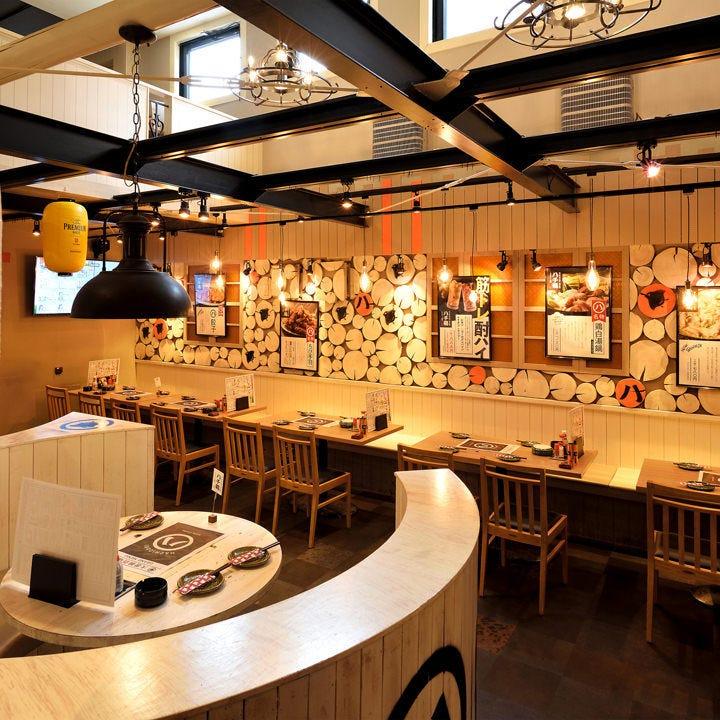 モダンで明るい雰囲気のNEO大衆酒場