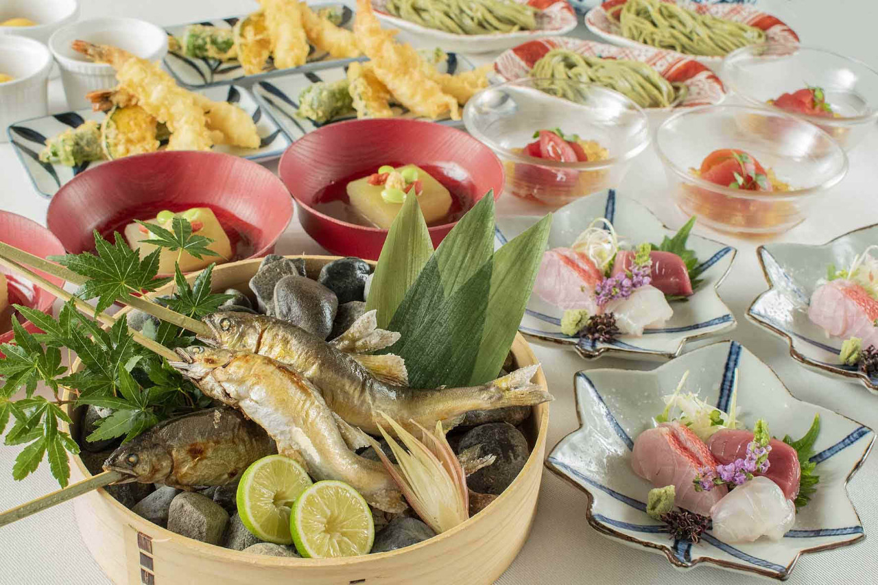 板前渾身の和食料理と日本酒