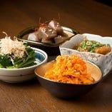 【日替わり】 季節食材を盛り込んだその日のおすすめをご用意