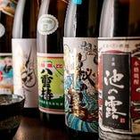 【焼酎】 鹿児島や熊本から取り寄せた約20種類の本格焼酎を常備