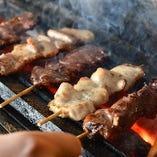 職人技で焼き上げる絶品串焼き