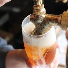 13種類の樽生クラフトビール