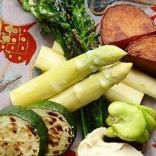京都の採れたて野菜本来の味を